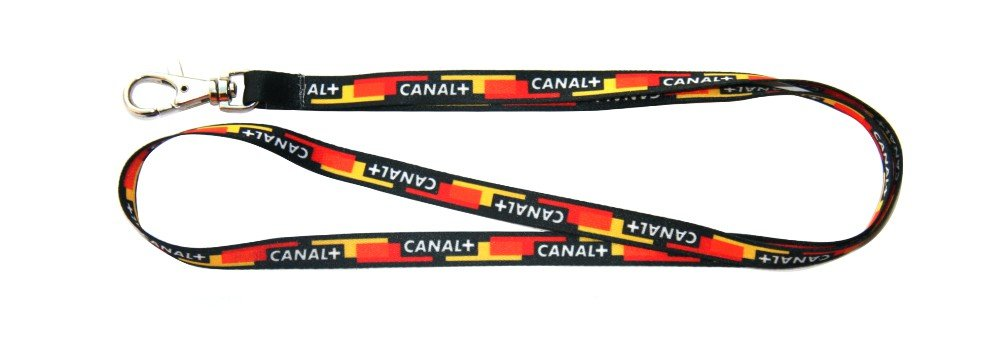 Neck straps with print