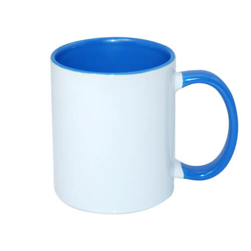 Colored sublimation cup with print