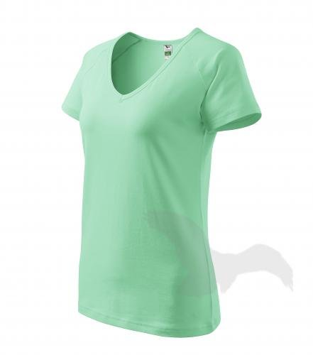 Women's t-shirts V-neck with print